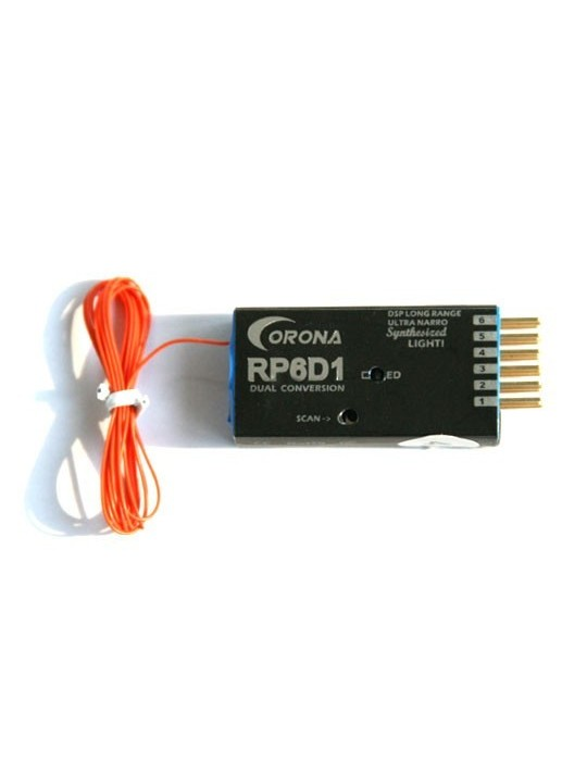 RECEPTEUR CORONA RP6D1 41 MHz
