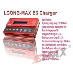 CHARGEUR EMAX LOONG-MAX E6