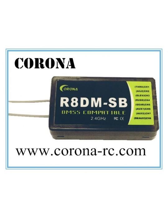 RECEPTEUR 2,4 GHz CORONA R8DM