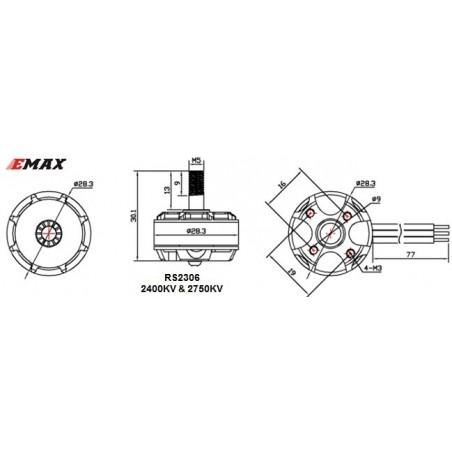 Moteur FPV Emax RS2306
