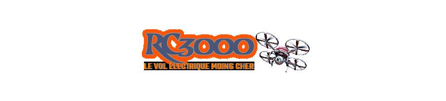 Accu lipo Loongmax 2s - RC 3000 aeromodelisme