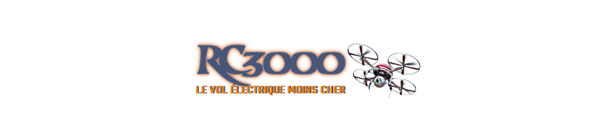Helices avions pour moteur brushless - RC 3000